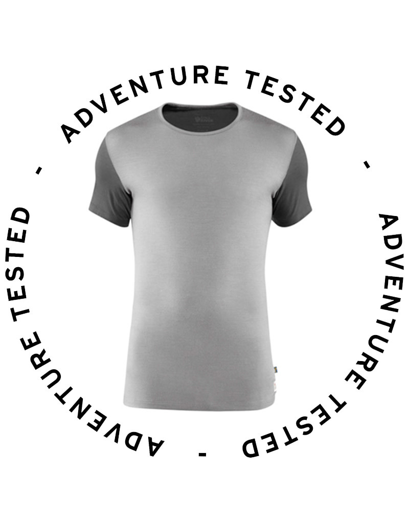 Keb Wool T-shirt M Light Grey-Grey L- Adventure Tested