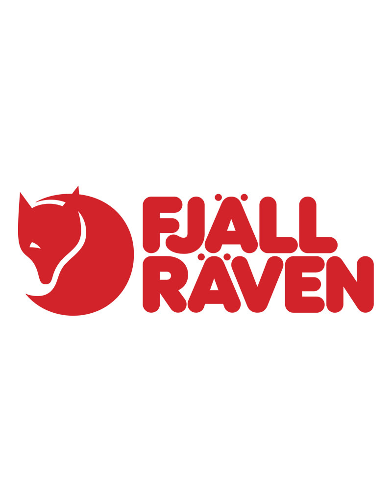 Fjallraven Logo with Text 7cm x 2.5cm