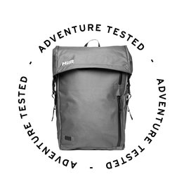 Adventure Tested MiiR Commuter 25L Grey - Adventure Tested