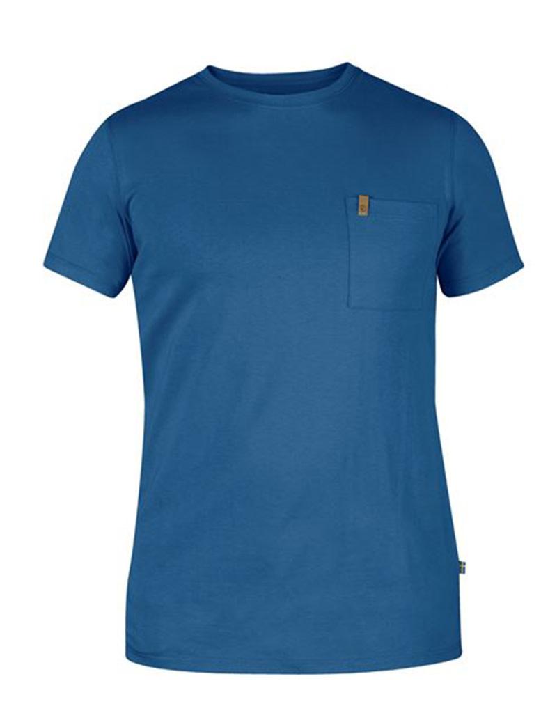 Fjällräven Ovik Pocket T-shirt M Uncle Blue