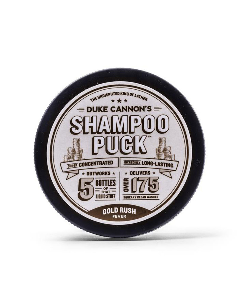 Duke Cannon Shampoo Puck - Gold Rush