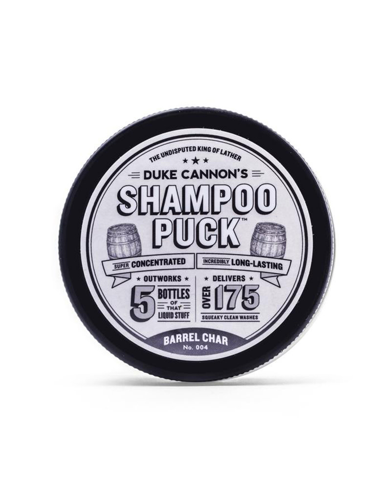 Duke Cannon Shampoo Puck - Barrel Char
