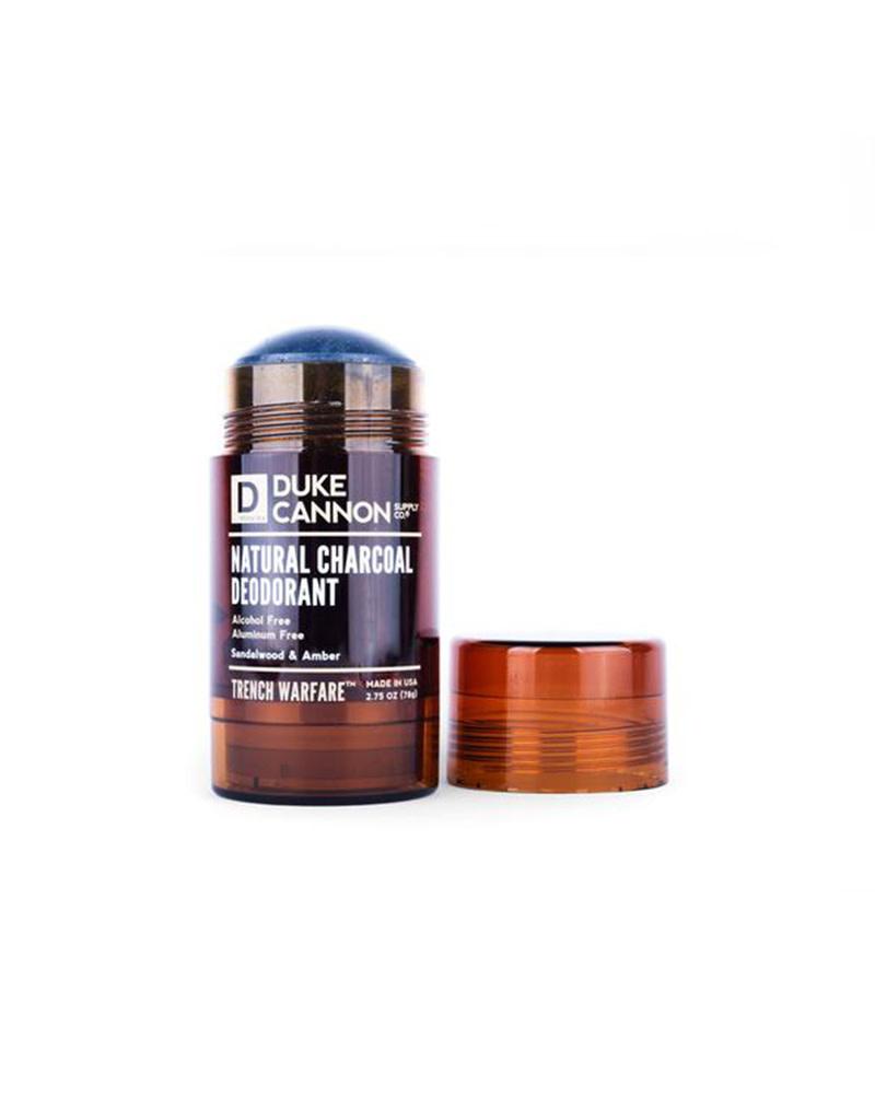 Duke Cannon Trench Warfare Natural Charcoal Deodorant Sandalwood & Amber