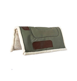 Faber Western Saddle Pad Green