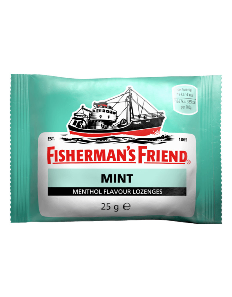 Fishermans Friend Mint Green
