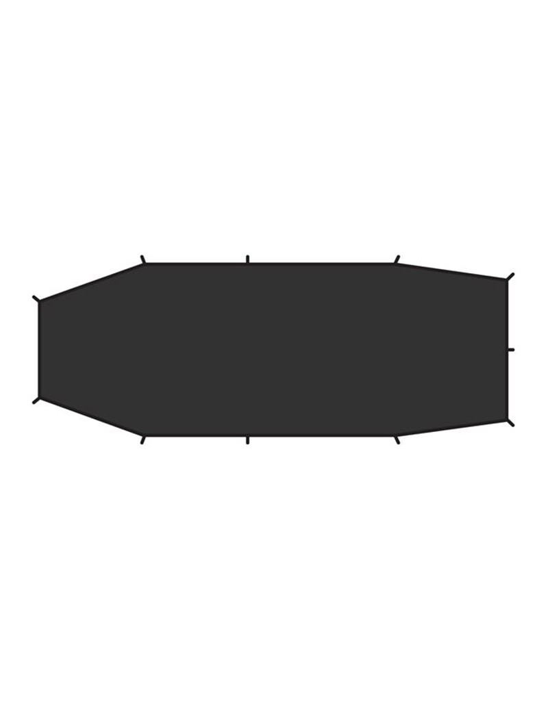 Fjällräven Endurance 2 Footprint-Black