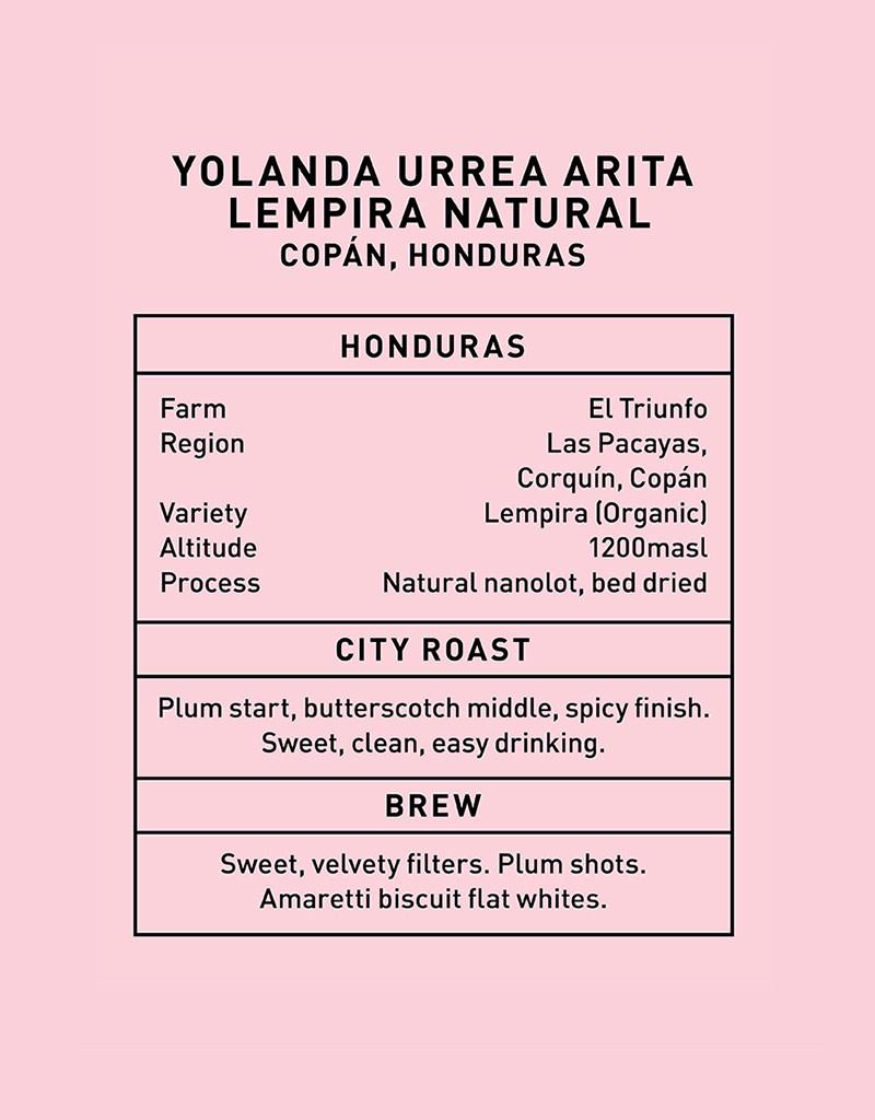 Father Coffee Yolanda Urrea Arita, Copán, Honduras