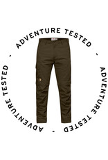 Fjallraven Karl Pro Zip Off Trousers M Dark Olive 48 - Adventure Tested
