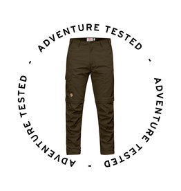 Fjallraven Karl Pro Zip Off Trousers M Dark Olive 48 - Adventure Tested