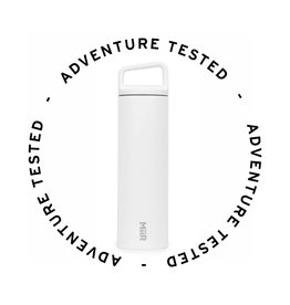VI Wide Mouth Bottle White 20oz (592ml) - Adventure Tested
