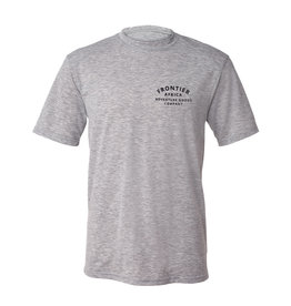 Frontier Provisions AFRICA GREY MELANGE MENS T-SHIRT