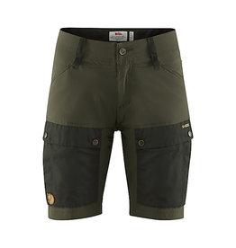 Keb Shorts W Deep Forest-Laurel Green