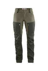 Fjällräven Keb Trousers W Reg Deep Forest-Laurel Green