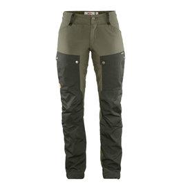 Fjällräven Keb Trousers W Reg Deep Forest-Laurel Green