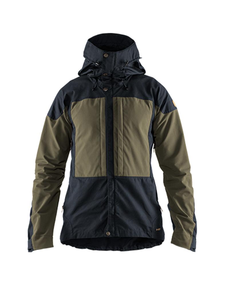 Fjällräven Keb Jacket M Dark Navy - Light Olive