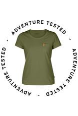 Fjallraven Ovik T-shirt W Green Small - Adventure Tested