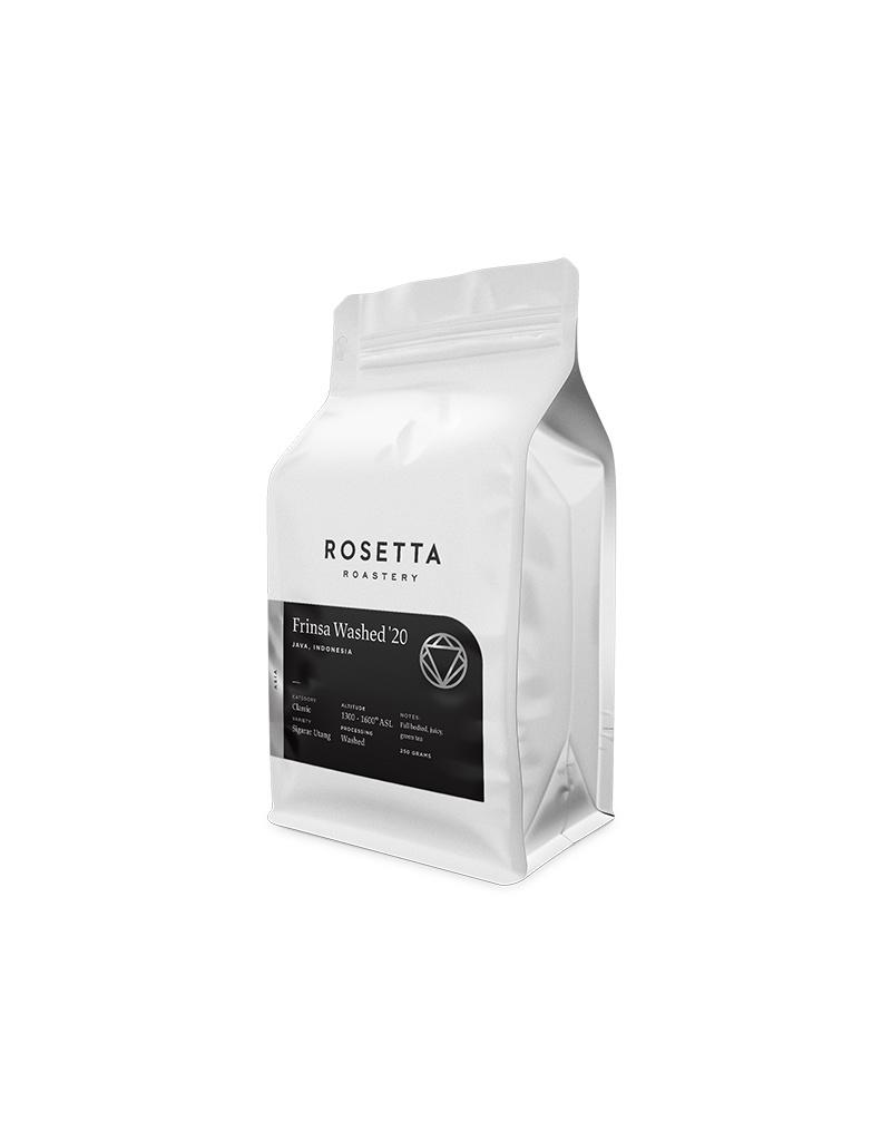 Rosetta Roastery Frinsa Washed '20, Indonesia
