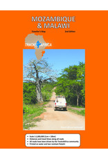 Tracks 4 Africa Mozambique & Malawi Paper Map 2nd edition