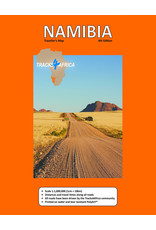Tracks 4 Africa Namibia Paper Map 4th edition