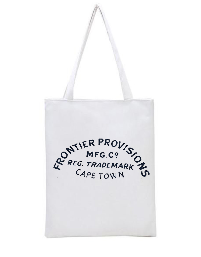 Frontier Provisions Logo Tote Natural