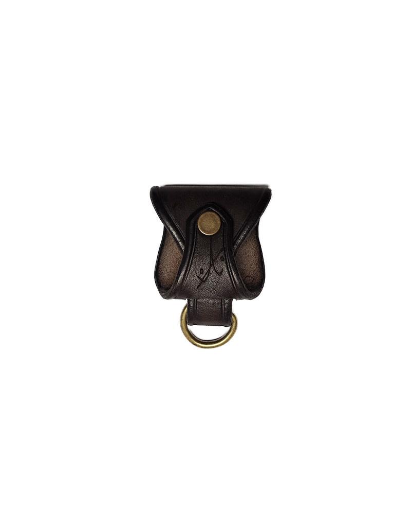 ANVL Leather Belt Clip Coffee