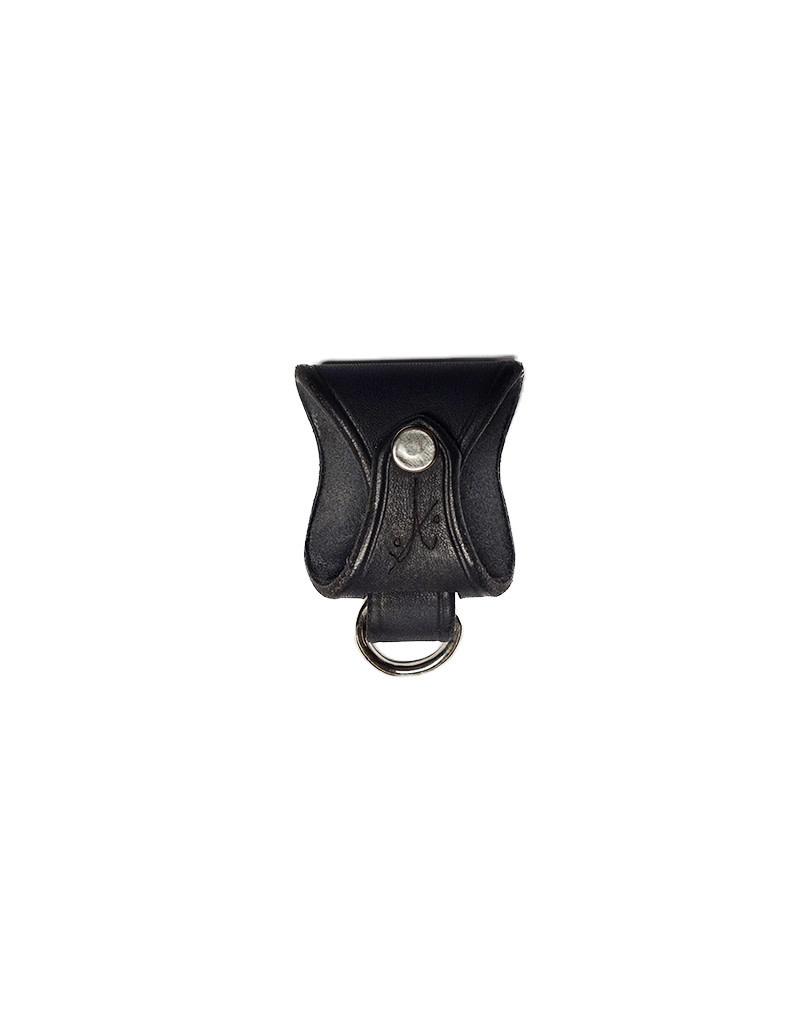 ANVL Leather Belt Clip Black