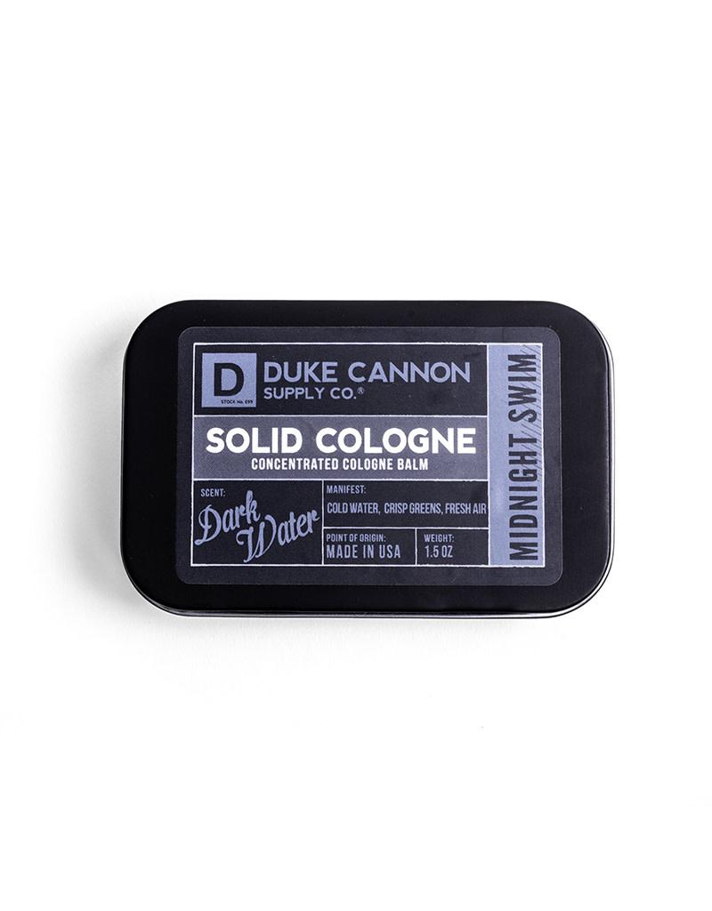 Duke Cannon Solid Cologne - Midnight Swim