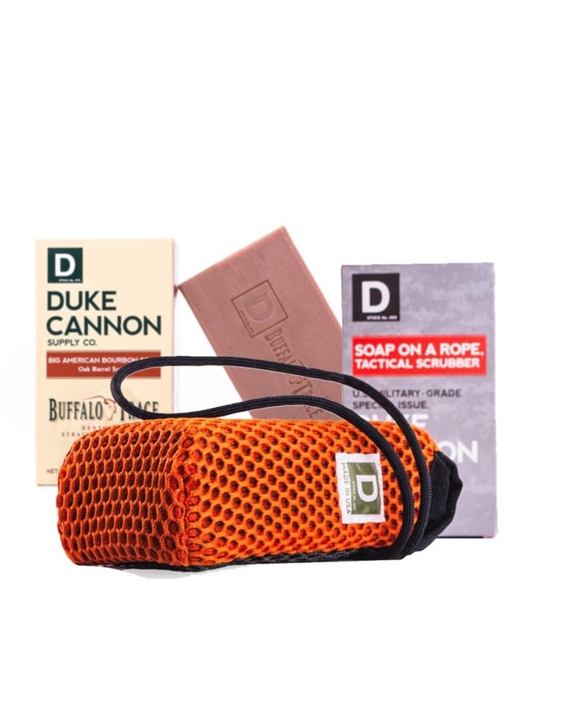 Duke Cannon Tactical Soap on a Rope Bundle Pack - Big American Bourbon Soap