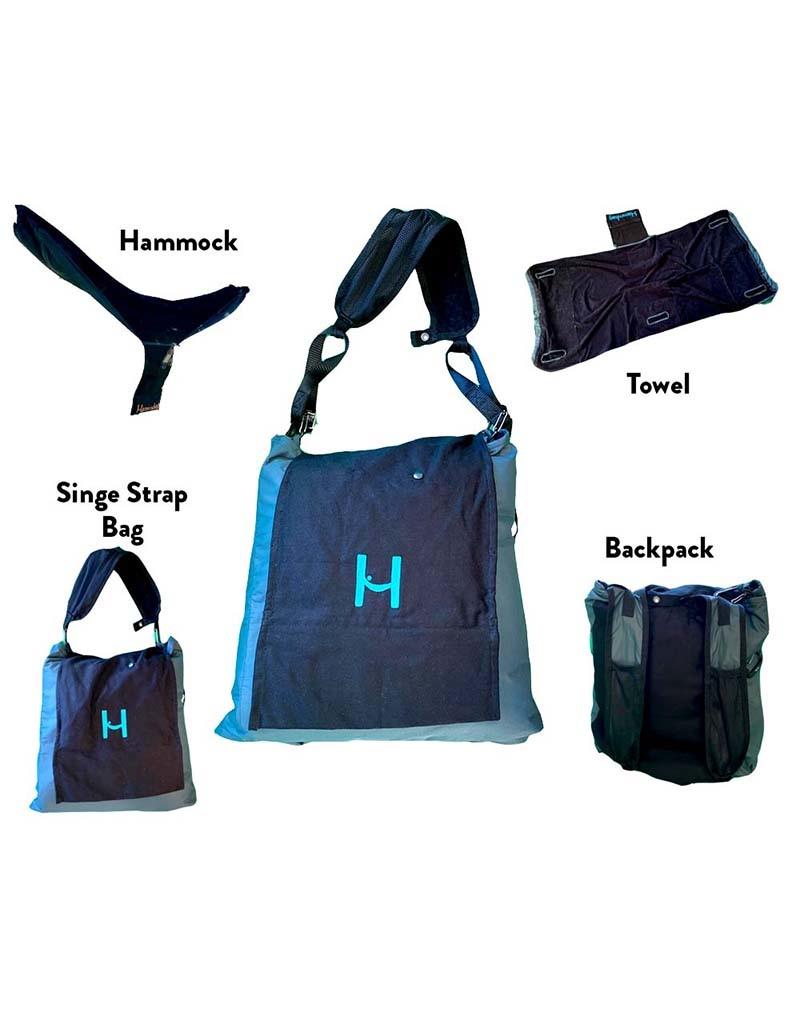 Hammbag Pro Bag to Hammock