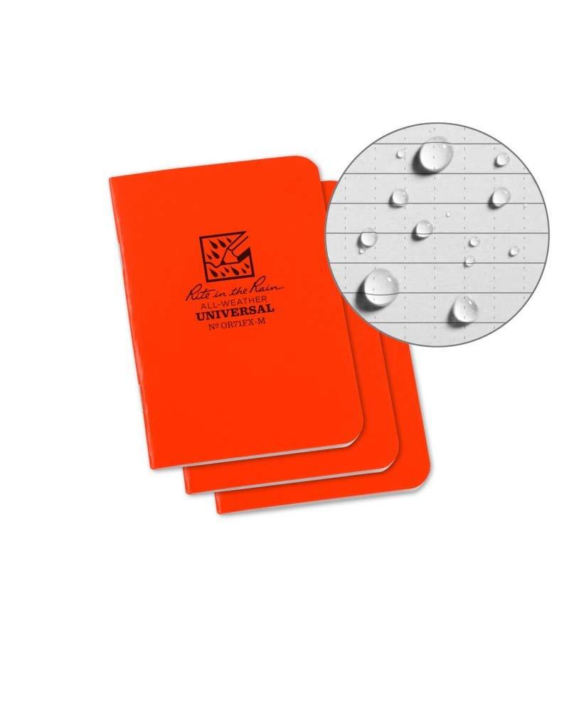 Rite in the Rain Stapled Mini-Notebook Universal - Field Flex