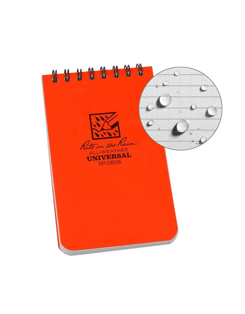 Rite in the Rain 3X5 Notebook