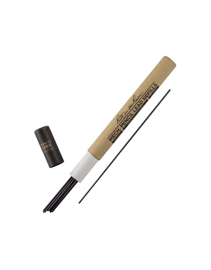 Rite in the Rain 1.3Mm Mech Pencil Lead Black Lead Refill - 13 Series
