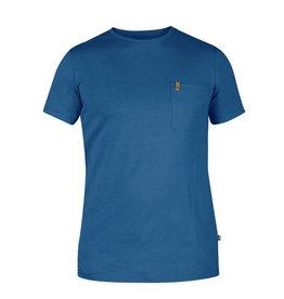 Fjallraven Ovik Pocket T-shirt M Uncle Blue