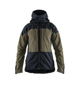Fjallraven Keb Jacket M Dark Navy - Light Olive