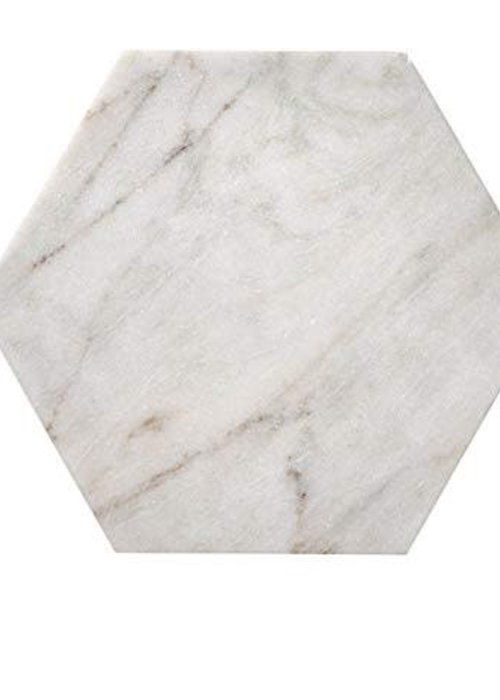 Bloomingville Marble Tray Hexagon
