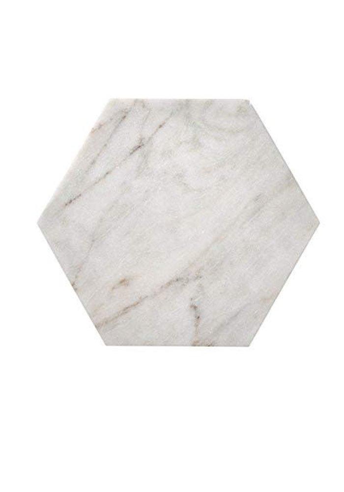 Marble Tray Hexagon