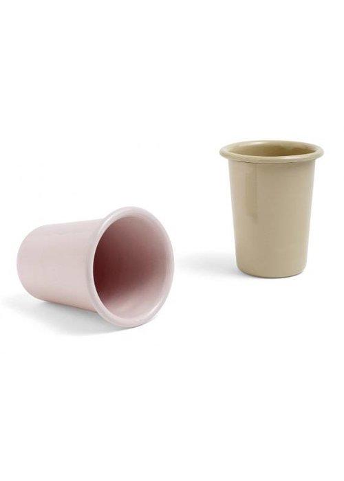 HAY Enamel Cup Brown