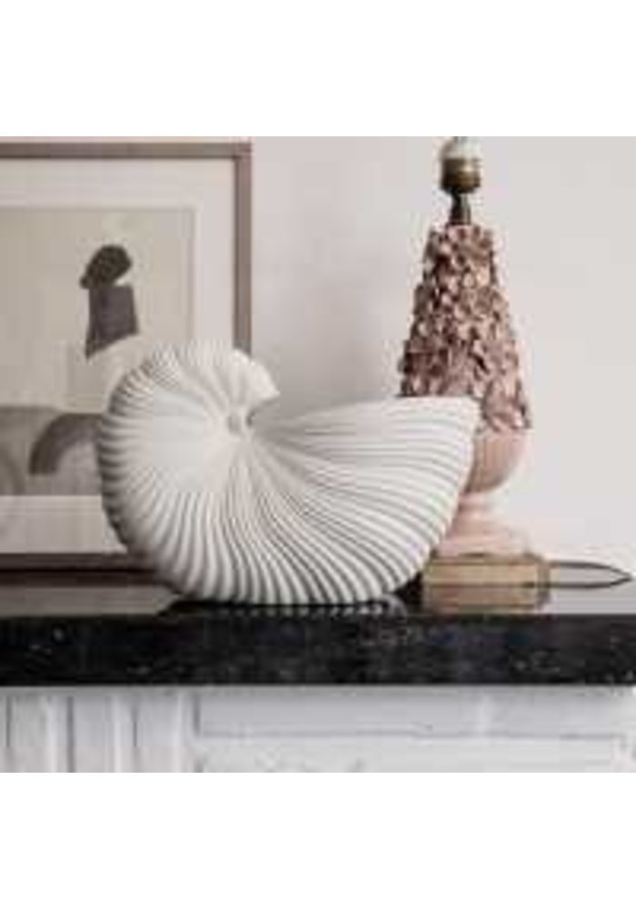 Shell Pot Large Off-White