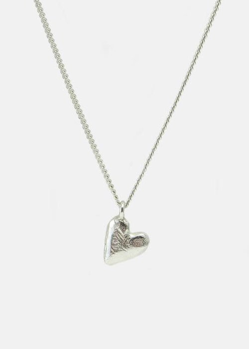 Studio MHL Necklace Heart Silver
