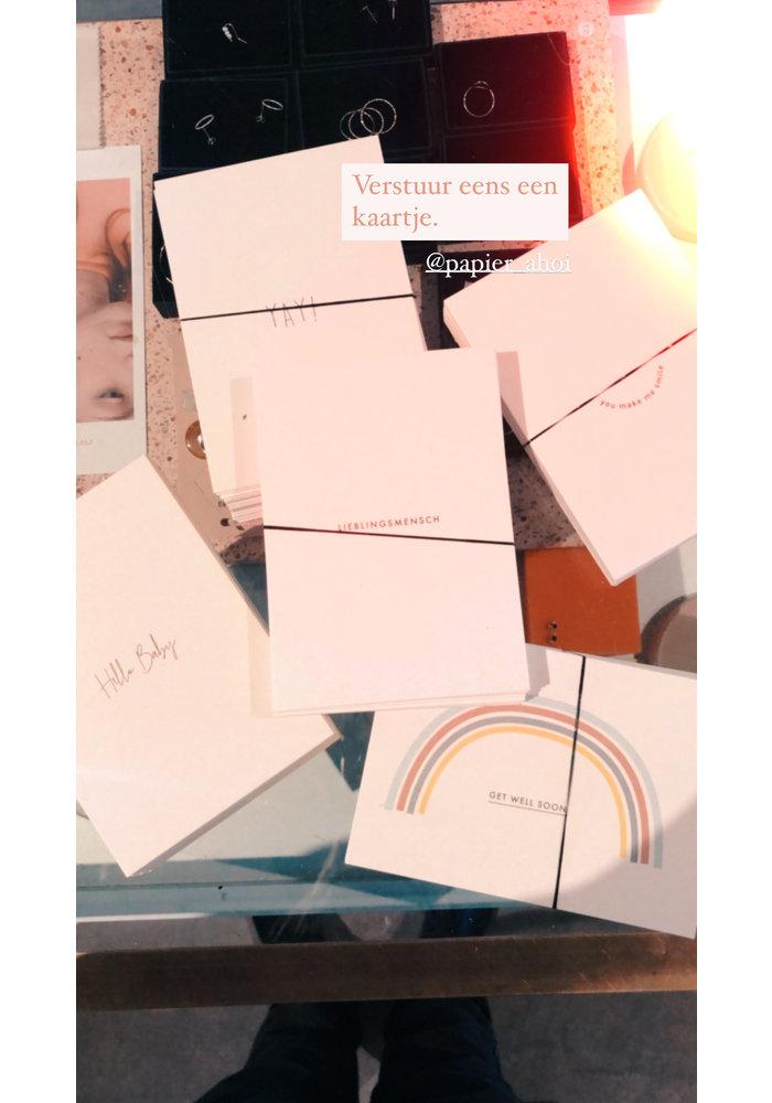 Papier Ahoi Wishcard