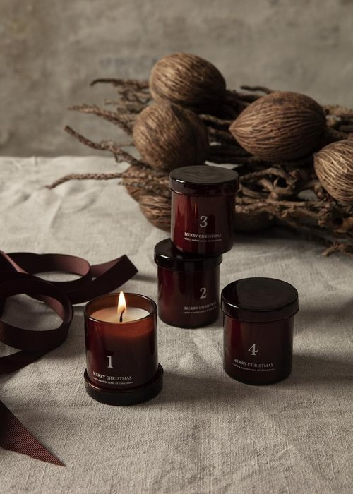 Ferm Living Scented Advent Candles