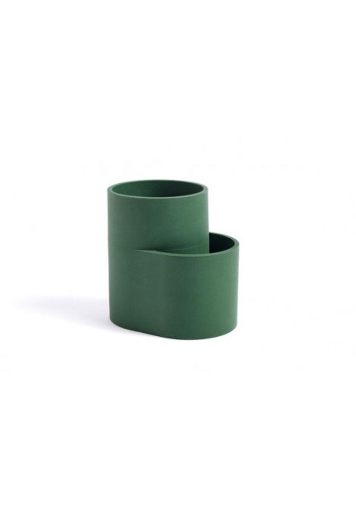 Dish Drainer Cup Dark Green