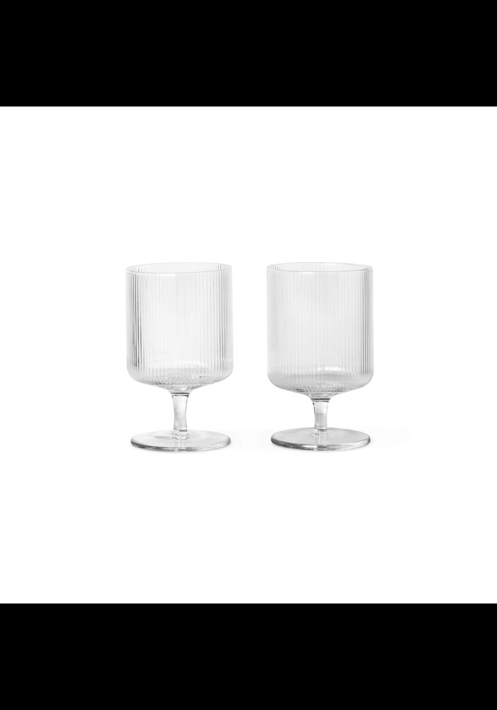 Ripple Wine Glasses Set of 2