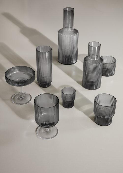 Ferm Living Ripple Small Glasses - set of 4