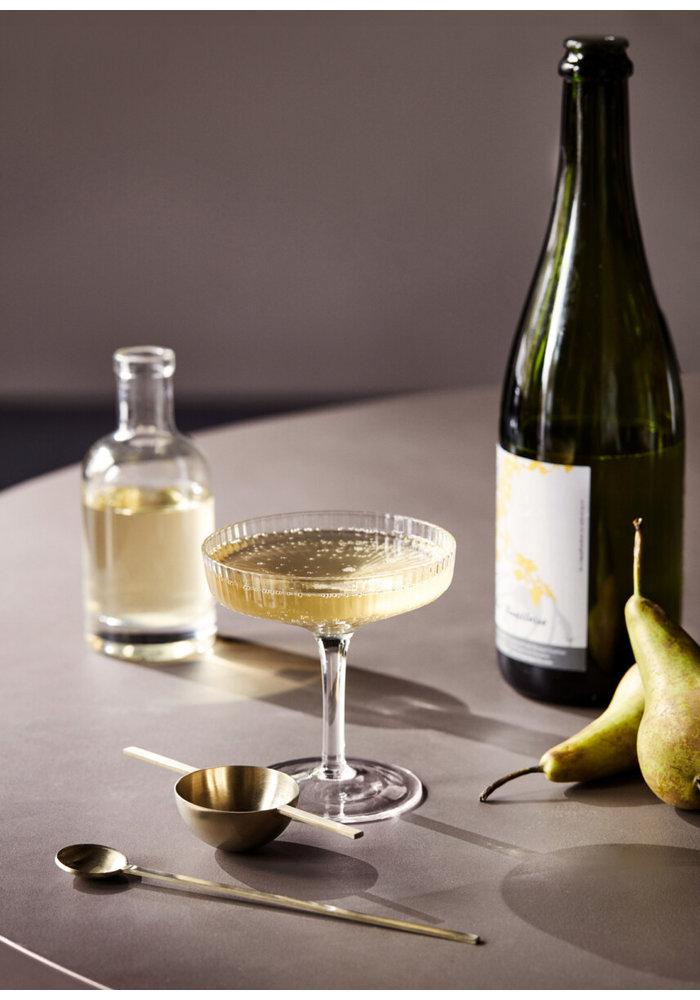 Ripple Champagne Saucer