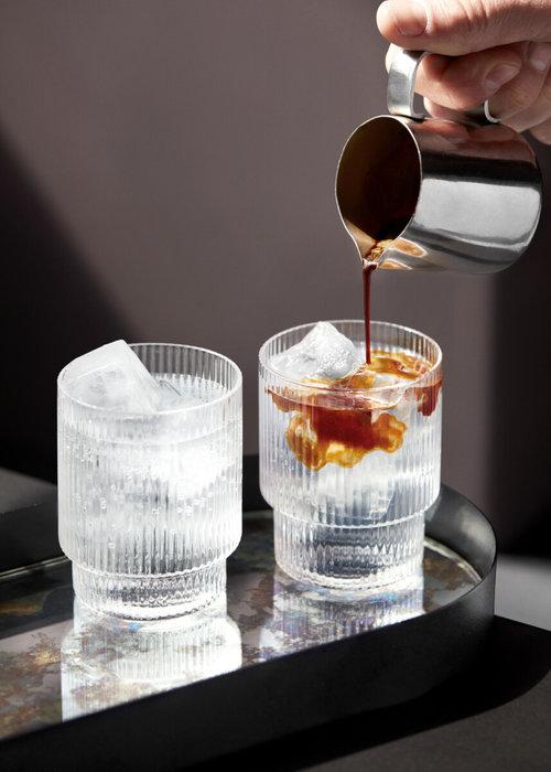 Ferm Living Ripple Glass Set of 4