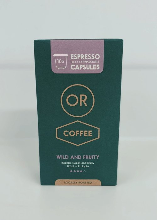 Or Coffee Wild & Fruity Capsules Or Coffee