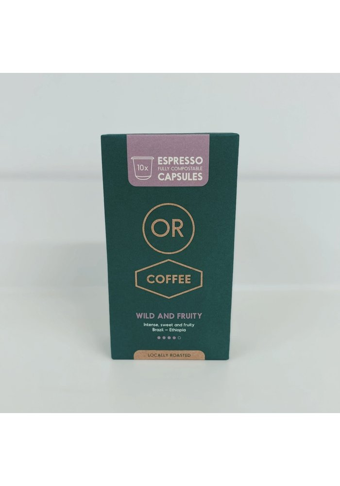Wild & Fruity Capsules Or Coffee
