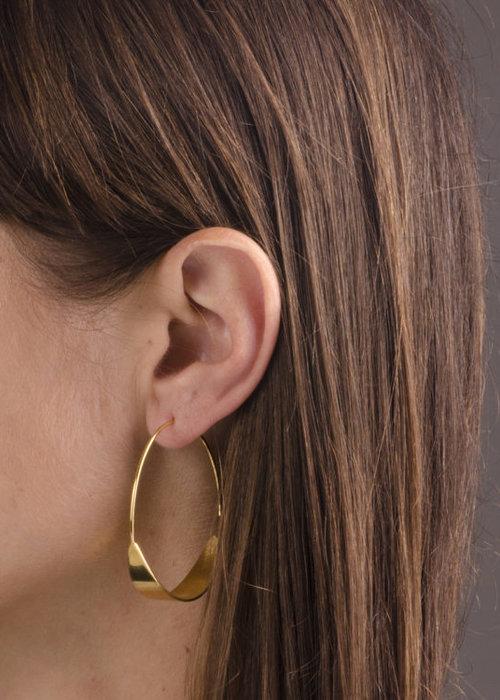 Charlotte Wooning Earring Moon EMN
