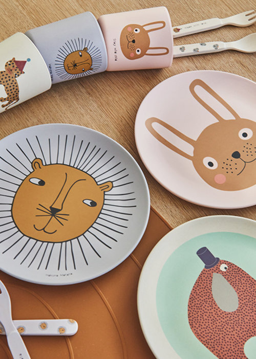 OYOY Rabbit Tableware Set